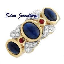 Ruby Sapphire Fine Rings