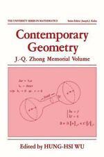 University Series in Mathematics: Contemporary Geometry : J. -Q. Zhong...