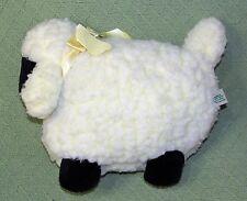 Vintage WOOLY LAMB Ribbon BELL Atlanta Novelty Plush GERBER Cream Yellow SHEEP