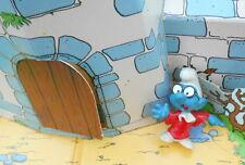 20016 Schtroumpf juriste robe rouge Smurf  puffi pitufo schtroumpfette H.Kong 71