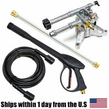 Ar Pump Rmw22g24 Ez 2400 Psi Pressure Washer Pump Wand Hose Spray Gun Kit