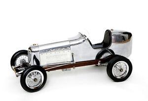 Modellauto Bantam Midget Spindizzy Racer Groß Rennwagen Modell Auto Holz Metall