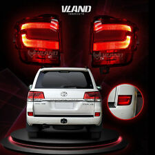 Replacement LED Tail Light For Toyota Land Cruiser 2016-2017 Red Lens Rear Lamp