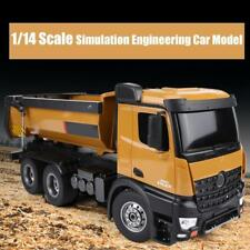 1/14 HUINA 1573 2.4G 10CH RC Dumping Engineering Truck Simulation Vehicle Model