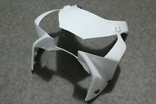 Unpainted White Front Upper Head Cowl Fairing Nose for Honda CBR954RR 2002-2003