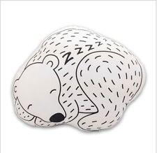 Japanese Kawaii Soft Polar Bear Cushion Pillow Toys Cute Baby Kids Cotton Crib