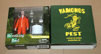 BREAKING BAD EXCLUSIVE Walter White ORANGE HAZMAT SUIT Mezco Action Figure