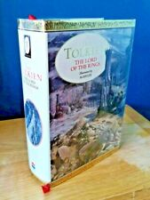 The Lord of the Rings J.R.R. Tolkien Cent Ed SIGNED + LARGE SKETCH by ALAN LEE