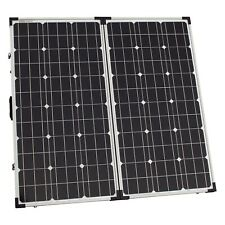 150W (75W+75W) 12V/24V folding solar panel without a solar charge controller