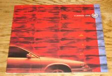 Original 2000 Cadillac Eldorado Sales Brochure 00