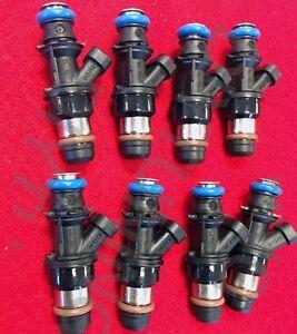 750cc Flow Delphi Fuel Injectors GMC Cadillac & Chevrolet 4.8L 5.3L 6.0L 01-07