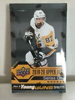 2019-20 Upper Deck Series One HOCKEY - SEALED HOBBY BOX! 24 8-Card Packs