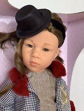 "Gotz Happy Kidz Doll Emilia (articulated Legs) 19.8""/ 50cm. RARE"