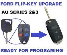 Flip key for Ford AU Falcon FPV XR6 XR8 Car Remote Series 2 & 3 99-02 AU2 AU3
