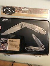 Buck Knives 353&354 Collector's Set Nib