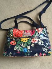 BNWoT Cath Kidston Large Floral Crossbody PVC Coated Bag Free Post