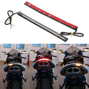 Motorcycle 48 LED Strip Light Tail Brake Turn Signal For Kawasaki Ninja ZX6R ZX6