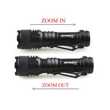 Focus 9000LM CREE T6 3Mode Zoomable LED Flashlight Torch Super Bright AA/14500 G