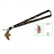 Zelda Gold Princess Logo Lanyard Key Chain