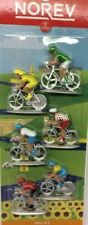 Lot de 6 cyclistes miniatures Norev Ref 318991 - Tour de France - Ech ~1/43