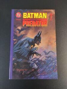 Batman vs Predator  1 2 & 3 Complete Set (DC / Dark Horse Comics, 1991)