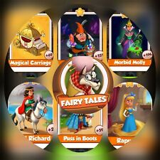 Fairy Tales Set ### Coin Master Cards (Fastest Delivery)