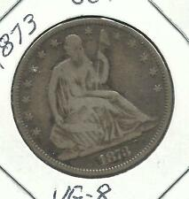 Seated Liberty Half Dollars  (1873) (closed 3)