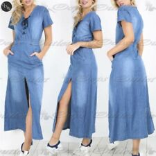 Unbranded Cotton Lace Up Dresses for Women
