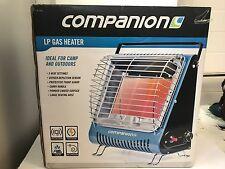 New Companion LP gas heater piezo camp & caravan LPG portable 3 tile