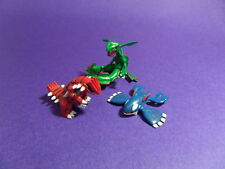U3 Tomy Pokemon Figure 3rd Gen  Kyogre Groudon Rayquaza Set
