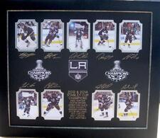 LA Kings 2012 & 2014 Engraved Collage Lot 2113649