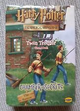 Harry Potter Twin Trouble Theme Deck *Sealed* TCG CCG CoS Chamber of Secrets