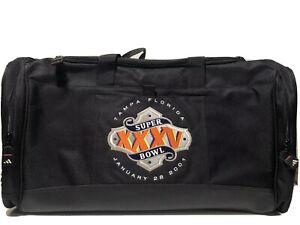 Adidas Super Bowl 35 Duffel Bag Tampa Florida Baltimore Ravens New York Giants