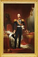 """oil painting 100% handpainted on canvas """"king Willem II """""""