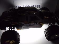 White Traxxas Rustler Bandit Universal 1/10 RC LED Strip Lights Plug & Play Kit