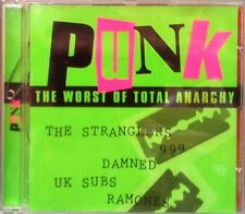Various Artists - Punk The Worst Of Total Anarchy (CD 1995) Punk Compilation