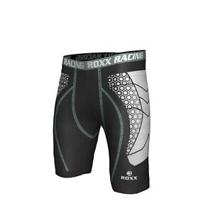 Compression Shorts Mens Boys ROXX Base Layer Cycling Boxer Skins Sports