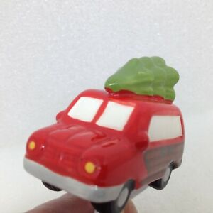 Nora Fleming Just Like the Griswolds Woody Van Christmas Tree Ceramic Mini