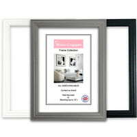 Black Picture Frames Dark Grey White Home Photo Frame Instagram A1 A2 A3 A4 A5