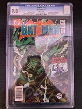 Batman #357 CGC 9.8 NEWSSTAND 1st Appearance Killer Croc & Jason Todd
