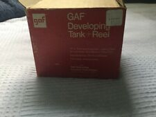 GAF Developing Tank + Reel In Box With Instructions