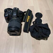 Nikon D D3200 24.2MP Digital SLR Camera - Black w/ AF-S VR DX G ED 18-105mm