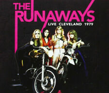 THE RUNAWAYS LIVE CLEVELAND 1979 CD CHERRY BOMB CALIFORNIA PARADISE SECRETS