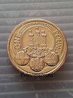 2011*EDINBURGH CITY £ 1 ONE POUND COIN