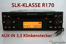 Mercedes Original Autoradio SLK-Klasse R170 W170 Audio 10 CD MF2910 AUX-IN MP3