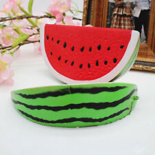 18cm Squishy Slow Rising Jumbo Watermelon Fruit Scented Bread Squeeze Toy Cute