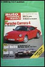 AMS Auto Motor Sport 23/88 * Porsche Carrera Audi V8 AMG 300 CE 6.0 DB 500