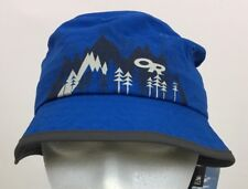 c44f6bceb3d Outdoor Research Kids Sun Bucket Hat UPF 50+ Glacier Blue Sz Small NWT