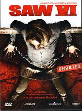 Saw VI , limited Mediabook , uncut , DVD + Blu_Ray , new ,Saw 6 , english german
