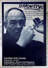 STAROWIEYSKI GALERIA POD LIPAMI 1993 Franciszek Starowieyski POLISH EXHIBITION